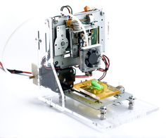 This project describes the design of a very low budget 3D Printer that is mainly built out of recycled electronic components. The result is a small format printer for less than 100$.First of all, we learn how a generic CNC system works (by assembling and calibrating bearings, guides and threads) and then teach the machine to respond to g-code instructions. After that, we add a small plastic extruder and give an overview on plastic extrusion calibration, driver power tuning and other few…