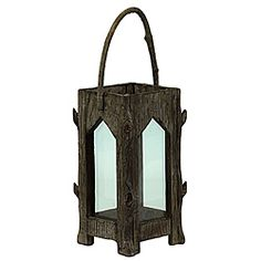 @Overstock.com - This lantern piece features a genuine wood composition. The lantern measures 14 inches high with a 7-inch diameter.http://www.overstock.com/Home-Garden/Wooden-Lantern/6975808/product.html?CID=214117 $43.49
