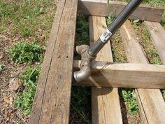 Résultat d'images pour No Weld Pallet Breaker Pallet Crafts, Diy Pallet Projects, Welding Projects, Wood Projects, Woodworking Projects, Welding Art, Metal Welding, Welding Ideas, Pallet Ideas