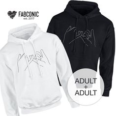 Best Friend Gift BFF Hoodie Matching BFF Hoodies Best Friend Hoodie Matching hoodies for best friend Bestie gift Bff Gift Idea Matching Outfits Best Friend, Best Friend Outfits, Couple Outfits, Best Friend Sweatshirts, Friends Sweatshirt, Bff Gifts, Best Friend Gifts, Gifts For Friends, Matching Hoodies For Couples