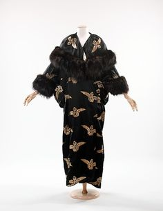 Evening Coat 1910-1914 The Metropolitan Museum of Art
