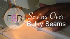 If you're sewing over a seam as we do when we're either making pieced units or stitching together blocks, sometimes the sewing machine doesn't pull the fabric through to create a normally spaced stitch length. This is a simple problem to resolve. What happens is, as the front of the foot elevates to go over …