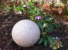 stoneglobelig… balls fitted with LED lights for unusual and stylish garden lighting. Entrance Lighting, Outdoor Lighting, Entrance Gates, Grand Entrance, Landscape Design, Garden Design, Garden Globes, Globe Lights, Pendant Lighting