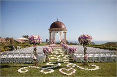 beautiful pelican hill wedding! <3