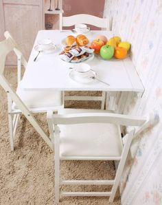 Solid Wood Wall Mounted Drop Leaf Table Folding Dining Table Desk FWT01 W |  EBay