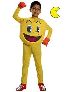 Pac-Man and The Ghostly Adventures Deluxe Pac-Man Costume #Videogames #Halloween #Costume