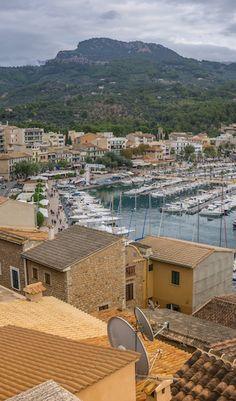 Port de Sóller ♡ Mallorca, Spain #mallorca #spain #portdesoller #europe #travel