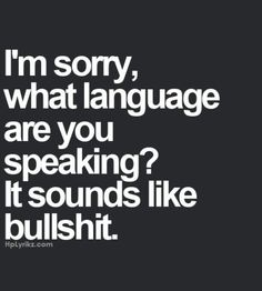 Language of the exes
