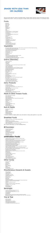 Health Desserts Under 100 Calories - Bilds Pin Healthy Snacks Before Bed, Healthy Work Snacks, Healthy Options, Get Healthy, Healthy Food, Snacks Kids, Breakfast Healthy, Healthy Breakfasts, School Snacks