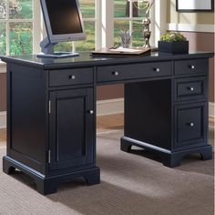 sauder edge water smartcenter secretary desk estate black desks at hayneedle spare bedroom pinterest secretary desks secretary and desks