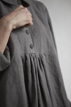 muku Mid grey linen