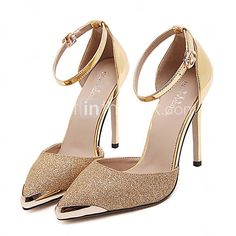 Women's Heels Spring / Summer / Fall / Winter Gladiator / Comfort / Novelty Leatherette Wedding / Party & Evening / Dress / Casual 2017 - $37.99