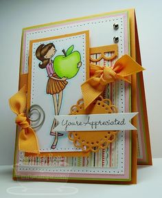 Love this card by Jessie!  Great color combo and design!