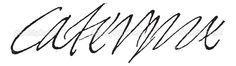 Catherine de Medici signature