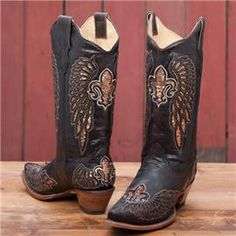 Cowboy Boots for a saints fan :)