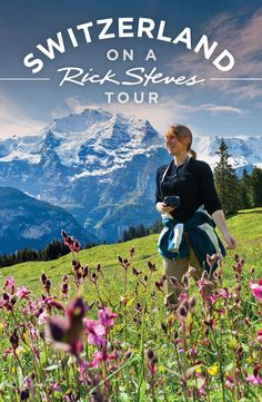 ~ Berner Oberland ~ Travel to Switzerland. we'll take a thrilling gondola lift up to our hotel in cliff-top Mürren, where we'll enjoy amazing views.