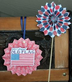 Taylor Stamped: 4th of July Decorations and Tutorial