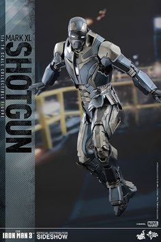 Hot Toys Iron Man Shotgun Armor Images and Info - The Toyark - News Iron Man Armor, Iron Man Suit, Hot Toys Iron Man, New Iron Man, Avengers, New Toy Story, Best Iron, Ironman, King Art