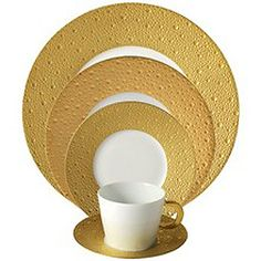 Bernardaud Ecume Gold