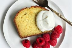 French Yogurt Cake with Marmalade
