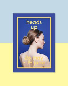 HEADS UP on Behance