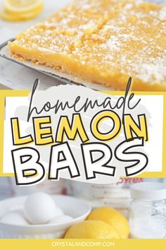 Lemon Dessert Recipes, Homemade Desserts, Delicious Desserts, Cake Platter, Lemon Bars, Round Cakes, Fresh Lemon Juice, Something Sweet, Stick Of Butter