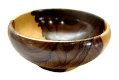 Exquisite crafted bowl, one of the kind with rare Zericote wood. Just Love it! www.artboxbz.com