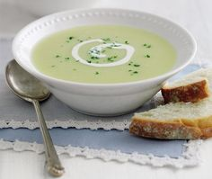 Leek and potato soup                                                                                                                                                                                 More