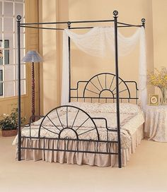 find this pin and more on bed frames ideas coaster wrought iron - Wrought Iron Bed Frame Queen