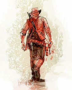 Arthur Morgan By Venamis Red Dead Redemption 1, Read Dead, Cartoon Network, Rdr 2, Nintendo, Dead Man, Ghost Rider, Wild West, Game Art