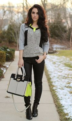 e0160f87fac4f How to Brighten Up Your Winter Looks. Carli Bybel FashionDresscodeFall  OutfitsStylish ...