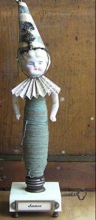 repurposed doll head