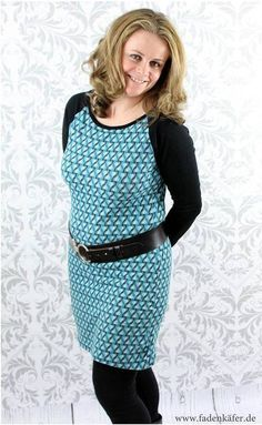 Ebook Stretchkleid Carolin  bei Makerist