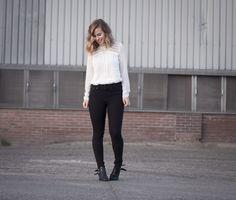 Spotted VILA blouse on stylebyjules.com