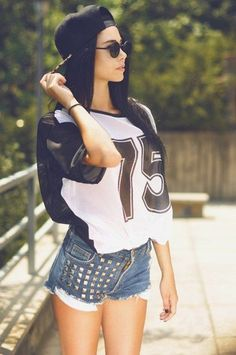 40 Pretty Girl Swag Outfit Ideas | http://fashion.ekstrax.com/2014/10/pretty-girl-swag-outfit-ideas.html