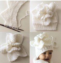 Örgü Bebek Şapkası Yapılışı   elisiorgudukkani.com