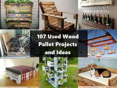 107 Ingenious Pallet Projects and Ideas