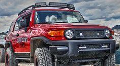 Toyota FJ Cruiser LED Lights | Toyota FJ LED Lights | FJ LED Light Bar | Rigid Industries Mount only $299.00