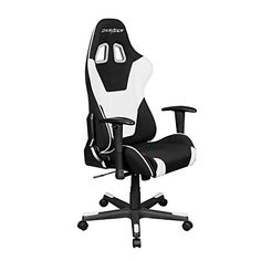DXRacer FD101 Racing Bucket Seat Office Chair Gaming Ergonomic with Lumbar Support (White)