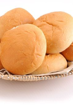 Homemade Fluffy Hamburger Buns Recipe