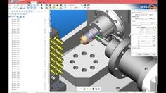 5 axis milling with SprutCAM for DM5 by COMAC