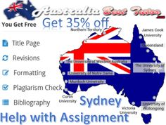 Australia Best tutor is one of the best online and offline help with assignment Sydney provider in Australia. Online Business Assignment services have helped the student achieve good marks and knowledge.