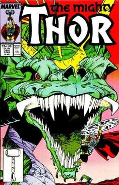 Thor #380, Walt Simonson one of my all time favorite artists