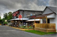 Old Country Store Complex in Jackson, Tennessee. I used to live in Jackson, and this place is pure America.