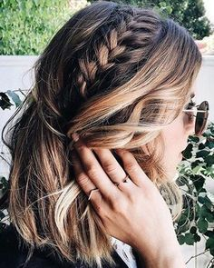 Gorgeous Mix of Braided Layered Medium Hairstyles 2018 for Women