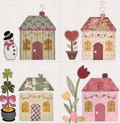 The Shabby | A Quilting Blog by Shabby Fabrics: Country Cottages Block Four!