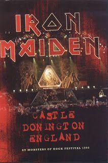 Post sobre o CD Castle Donington do Iron Maiden, com o show que marcou a despedida da primeira passagem de Bruce Dickinson pela banda!