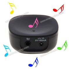 Cheap E3501 Mini Wireless Play Music Bluetooth Receiver Wireless Bluetooth Music Receiver Black - 24$