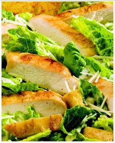 New Low FODMAP Recipes - Spiced chicken Caesar salad   http://www.ibssano.com/low_fodmap_recipe_spiced_chicken_caesar_salad.html