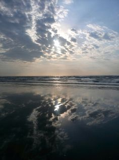 Reflection of sea